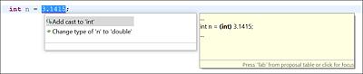 Die Tastenkombination (Strg)+ Leertaste nach dem switch bietet an, ein Grundgerüst für eine switch-Fallunterscheidung anzulegen.