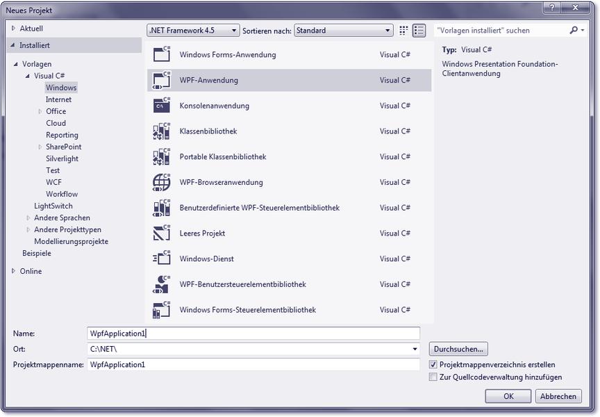 Rheinwerk Computing :: Visual C# 2012 - 18 Einführung in die WPF und ...