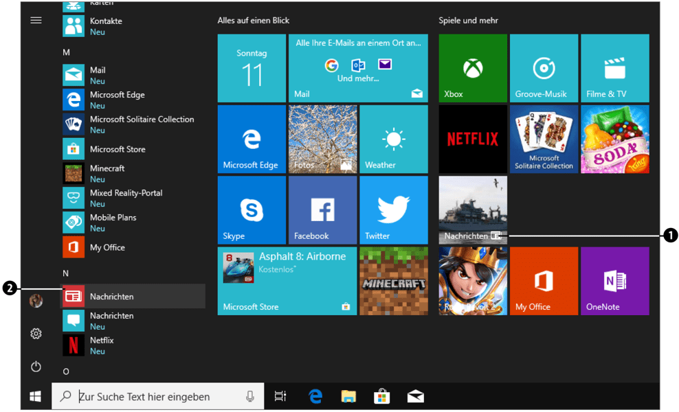 Nützliche Programme Windows 10