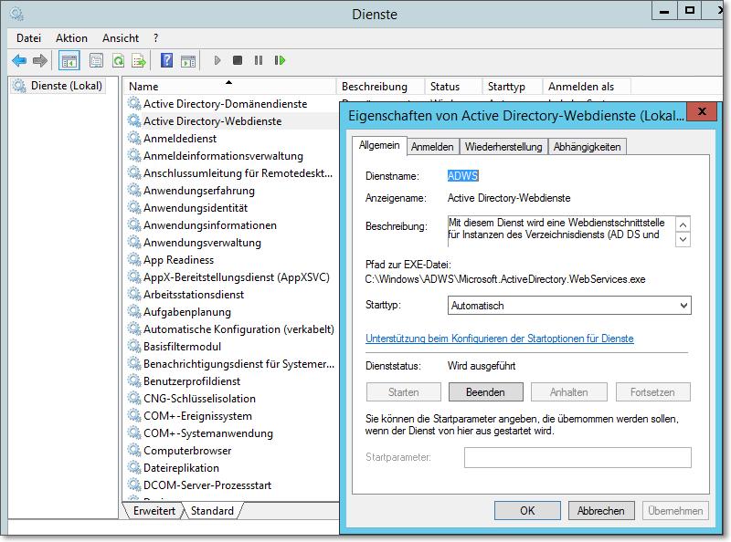 dienst wwan automatische konfiguration