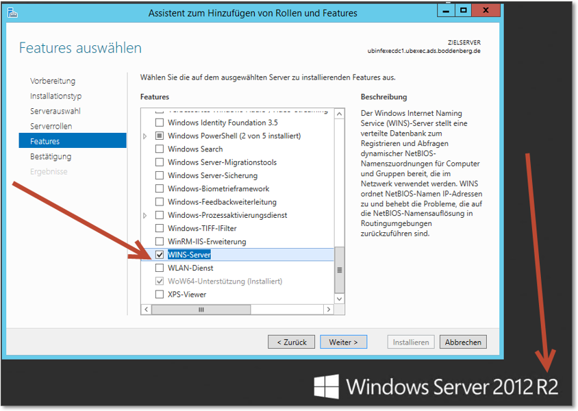 windows server 2012 r2 features list pdf