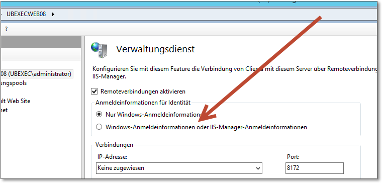 how to open iis manager in windows server 2012 r2